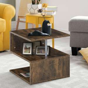 HOMCOM Coffee /Side Table £19.54 with Code Delivered from mhstarukltd /eBay