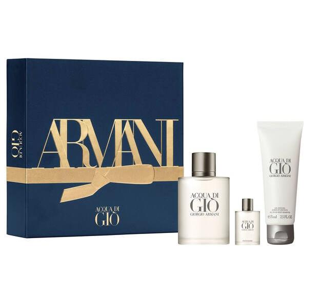 Various Giorgio Armani Gift Sets reduced e.g Acqua Di Giò Eau De Toilette 50ml Men's Gift Set £35.40 delivered @ Armani Beauty