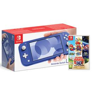 Nintendo Switch Lite Blue & Super Mario 3D All-Stars / Pokemon Snap £209.99 or with Plants VS Zombies / Harvest Moon £199.99 @ Monster-Shop