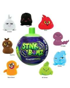 Stink Bomz plushie £1 In Store at One Below in Rothwell / Crown PointLeeds