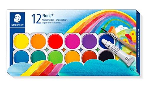 STAEDTLER 888 NC12 Noris watercolours Paints, Box of 12 Colours £3.76 (Prime) + £4.49 (non Prime) at Amazon
