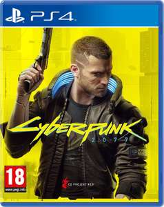 Cyberpunk 2077 (PS4) Used - £13.83 with code @ musicmagpie / ebay