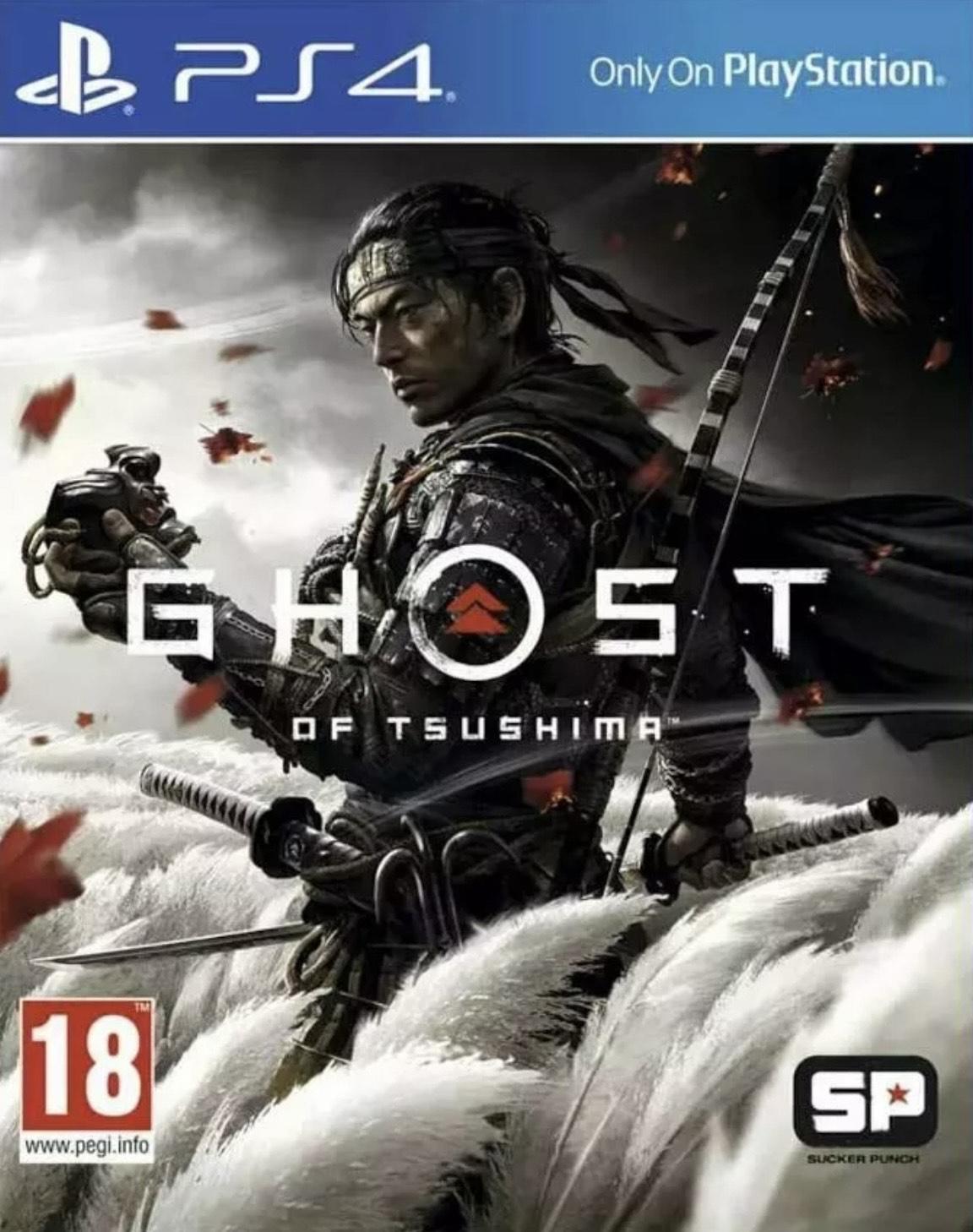 Ghost Of Tsushima (PS4) Ex rental £29.99 @ boomerangrentals via eBay