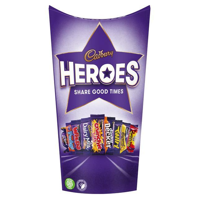 CADBURY Heroes 290g £1.99 Farmfoods Sutton