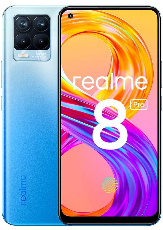 realme 8 Pro UK Infinite Blue 8GB+128GB Smartphone - £229.38 @ Amazon