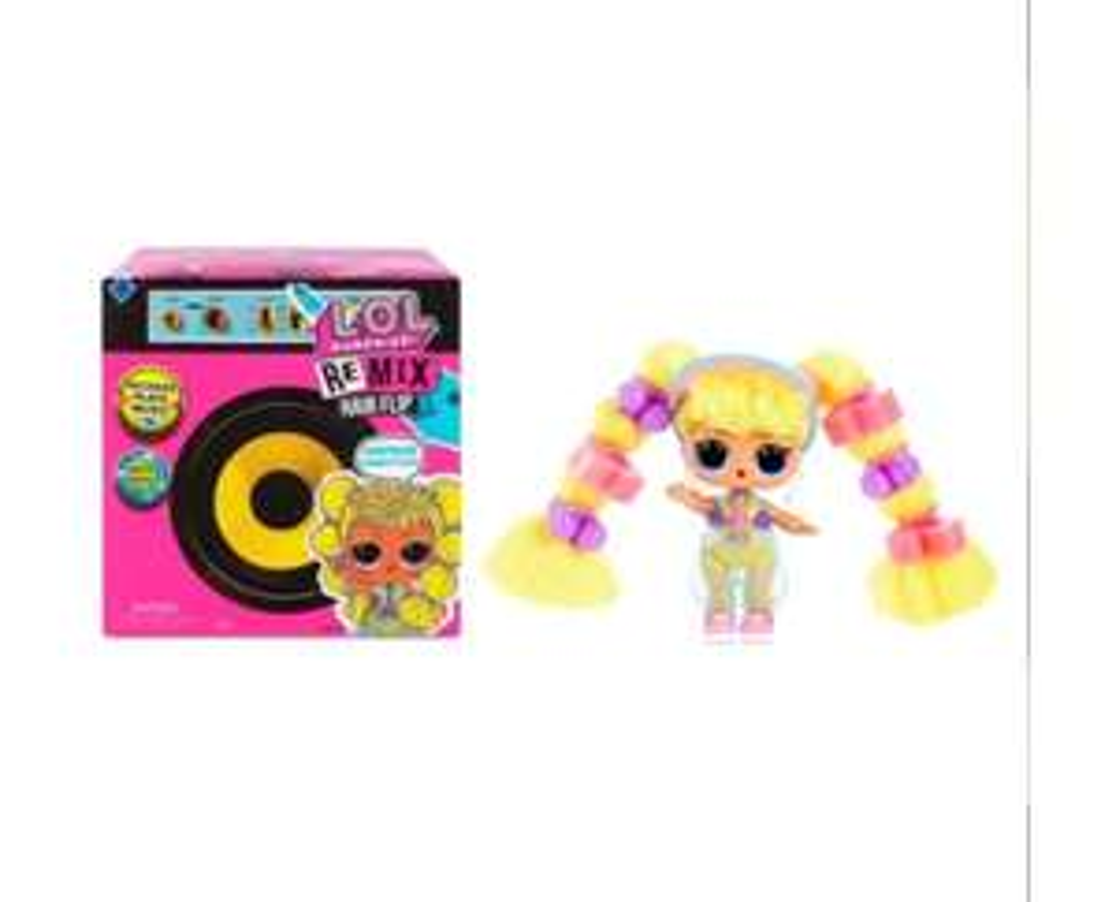 Lol Surprise Remix hair flip doll - £9.99 (+£2.99 Delivery) @ Smyths