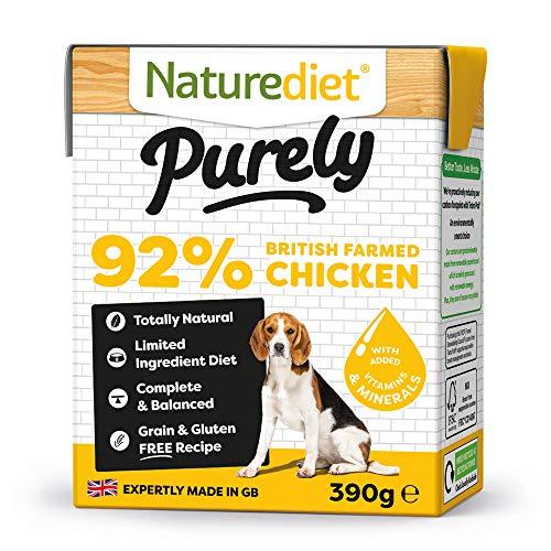 Naturediet Purely Chicken Complete Wet Food 390G x 18 £9.48 Amazon Prime (+£4.49 Non Prime)