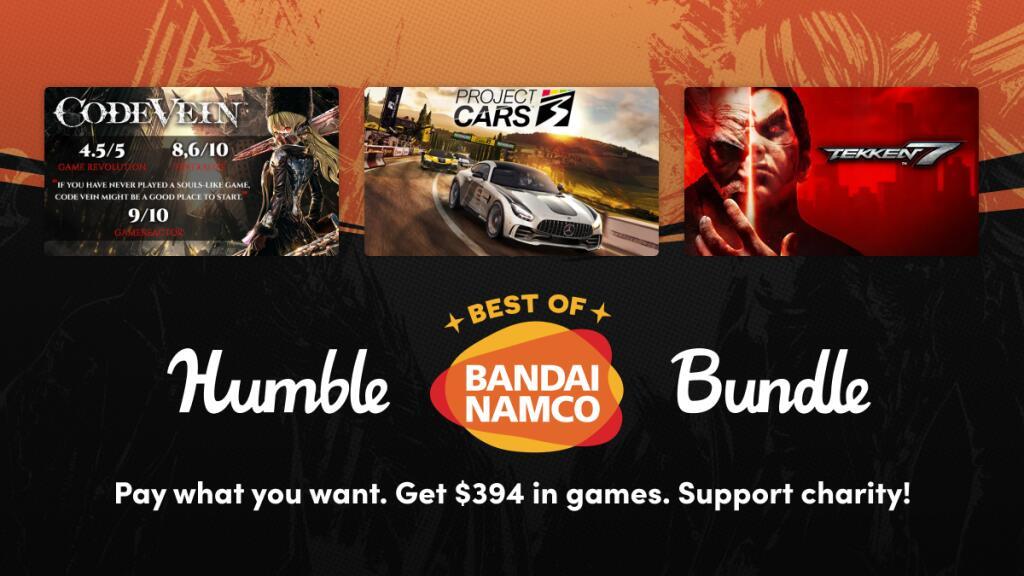 [Steam] Humble Best Of Bandai Namco Bundle (PC) - 71p onwards @ Humble Bundle