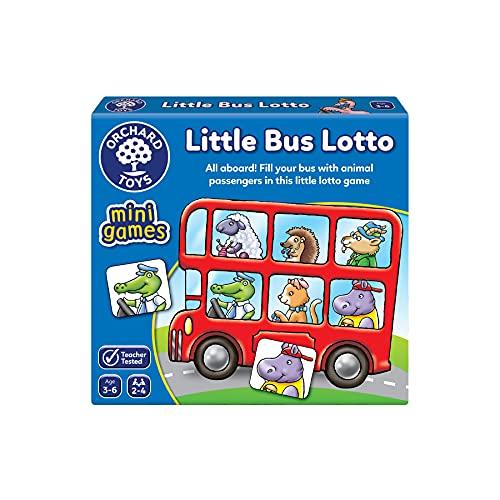 Orchard Toys Little Bus Lotto Mini Game - £3.02 (Prime) + £4.49 (non Prime) at Amazon