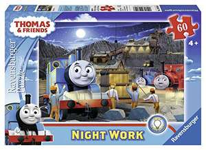 Ravensburger Thomas & Friends Glow in the Dark 60 Piece Giant Floor Jigsaw Puzzle £4.45 (+£4.49 Non Prime) at Amazon