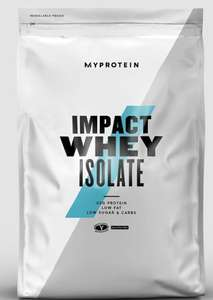 """Impact Whey """"Isolate"""" Protein 5KG - Blueberry - £41.57 with code @ My Protein"""