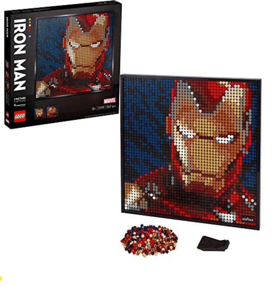 LEGO 31199 Iron Man Art - £77.49 @ Amazon