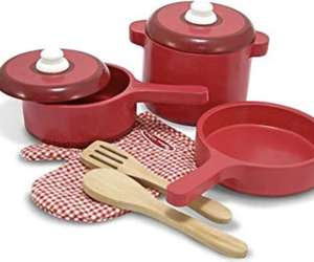 Melissa & Doug Wooden Kitchen Accessory Set - £8.07 (Non-Prime delivery +£4 99) @ Amazon