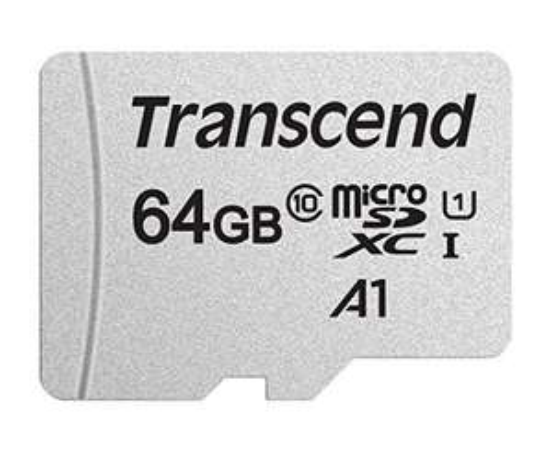 Transcend USH-I 64GB microSDXC 300S Class 10 Memory Card £6.12 (+£4.49 Non Prime) @ Amazon