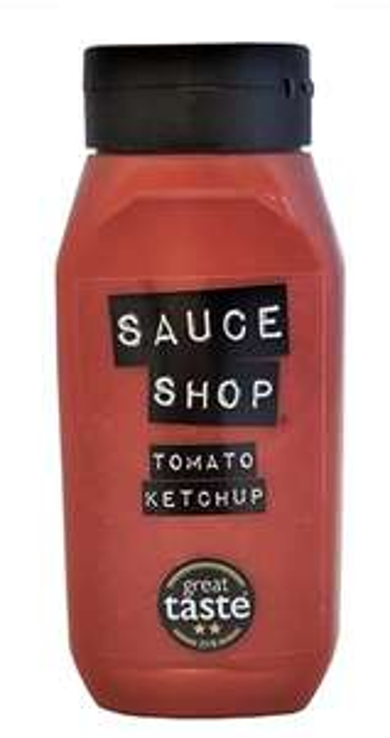 Sauce Shop Tomato Ketchup, 510g (double size bottle) - £2.62 (prime) + £4.49 (non prime), £2.23 s&s @ Amazon