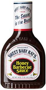 Sweet Baby Ray's Honey Barbecue Sauce, 510g £2.17 or £2.06 with subscribe and save (+£4.49 non-prime) @ Amazon