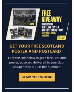 Get your free Scotland National Football team Poster and Postcards @ Scottish FA