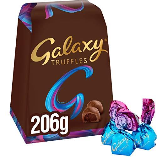Galaxy Chocolate Truffles Medium Gift Box 4 Packs of 206g £8.66 (+£4.49 nonPrime) Amazon