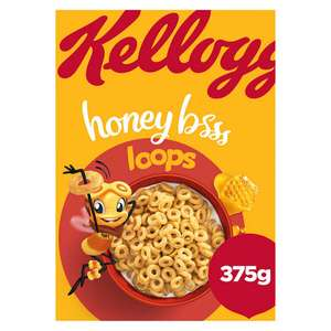 Kellogg's Honey Loops Cereal 375g for £1 @ Iceland