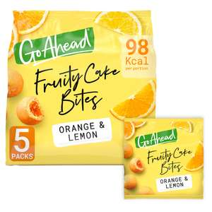 Free Go Ahead Fruity Cake Bites with voucher code @ sainsburys online (delivery fee applies)