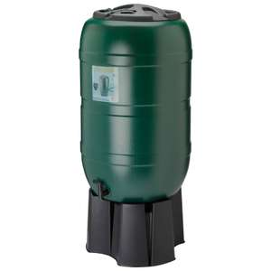 210l Water Butt including stand and diverter. £29.99 @ B&M Garden Centres (Saltash)