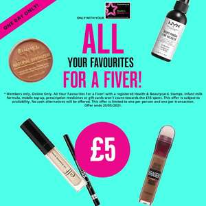Buy 3 Maybelline Instant Eye Concealer RRP £8.99 & More for Only £10 - £5 Make up with 3 for 2 Today only (Free Click & Collect) @ Superdrug