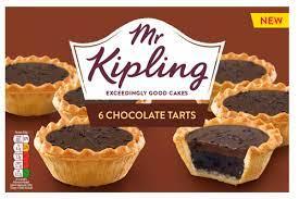 Mr Kipling 6 Chocolate Tarts - 85p @ Asda
