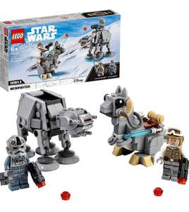 LEGO Star Wars 75298 AT-AT vs. Tauntaun Microfighters Building Set with Luke Skywalker andAT-AT £14.99 Prime / +£4.49 non Prime at Amazon