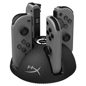 HyperX Chargeplay Quad - Joy-con Charging Station - £7.01 (+£4.49 Non Prime) delivered @ Amazon