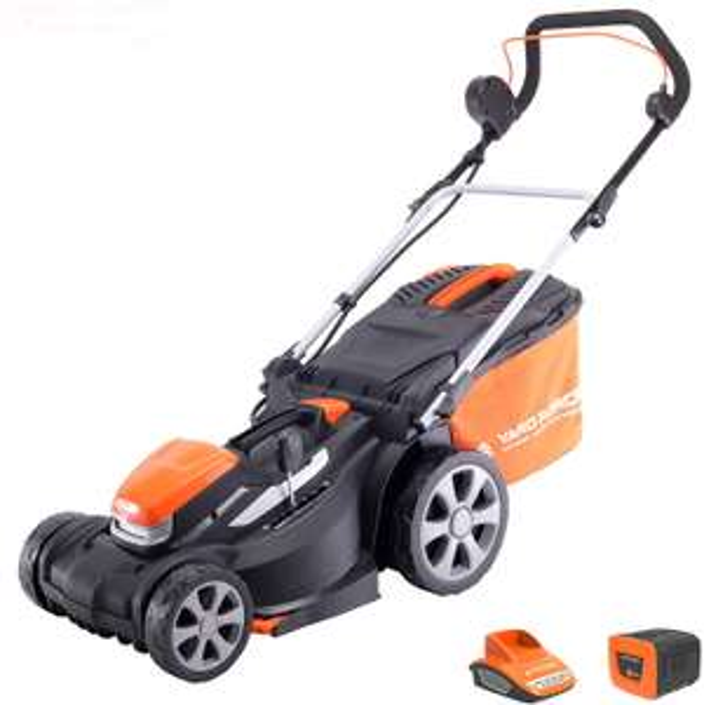 Yard Force 34cm 40v rear roller cordless lawnmower - £165.99 @ Amazon