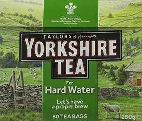 Yorkshire Tea Hard Water - 10 boxes of 80 tea bags £10.15 prime / £14.64 nonPrime Amazon