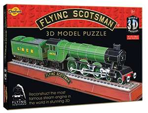 Cheatwell Games: Flying Scotsman 3D Model Puzzle - £7.42 Prime (+£4.49 Non Prime) at Amazon
