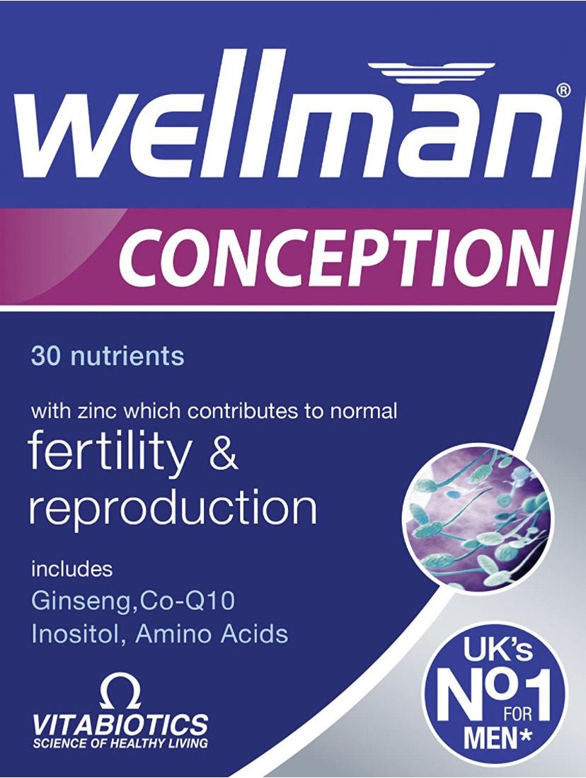 Vitabiotics Wellman Conception, 30 Tablets - £6 (+£4.49 Non Prime) @ Amazon