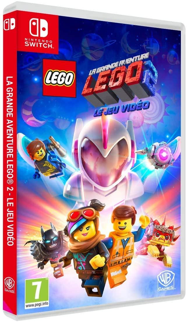 The LEGO Movie 2 Videogame (FRENCH COPY) Nintendo Switch - PRIME £13.84 / NON PRIME £18.33 at Amazon