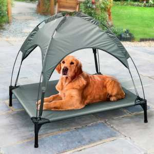 Raised Pet Bed with Sun Canopy - £20 instore @ B&M