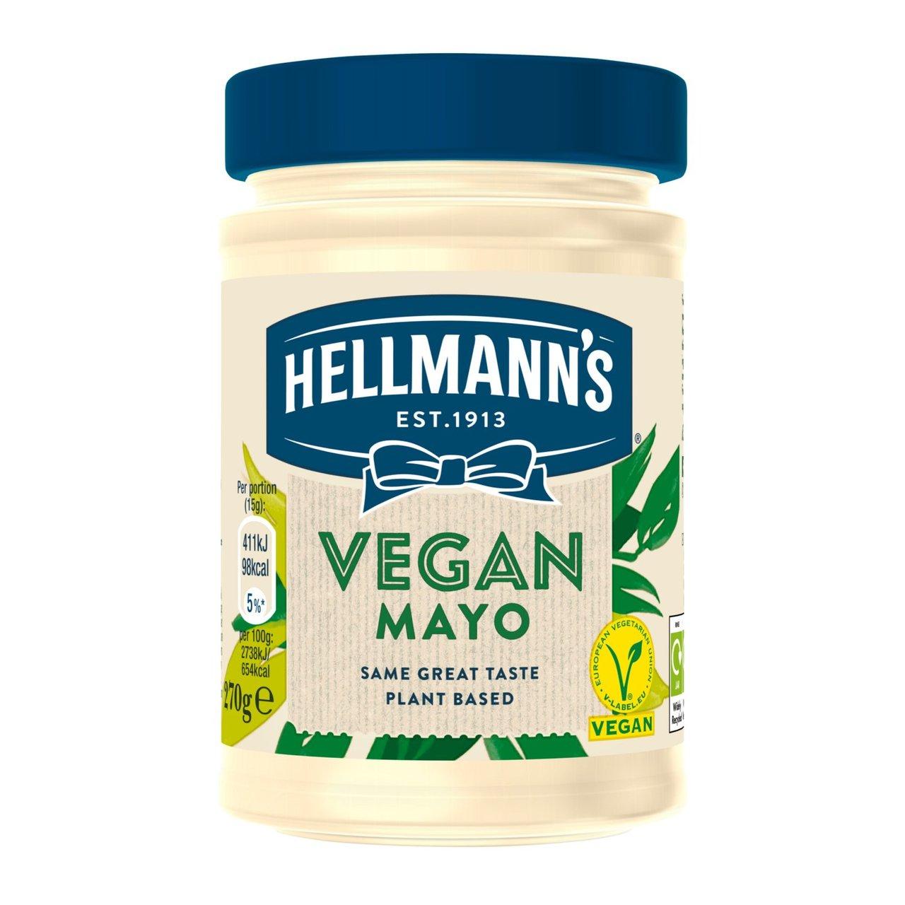 Hellmann's Vegan Mayonnaise 280ml - £1.80 @ Morrisons