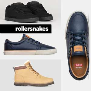 Osiris Protocol Trainers £30.99 / Globe Gs Dark - £30.99 Delivered (UK Mainland) + Buy 2 Pairs Get An Extra £5 Off @ Rollersnakes