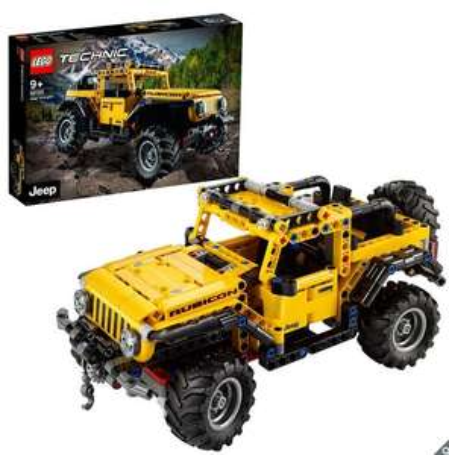 LEGO Technic Jeep Wrangler 42122 (9+ Years) - £29.99 (Membership Required) @ Costco