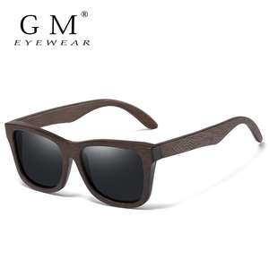 GM Natural Bamboo Wooden Sunglasses with polarized lenses (various colour lenses available) for £7.35 delivered @ AliExpress / GM Official