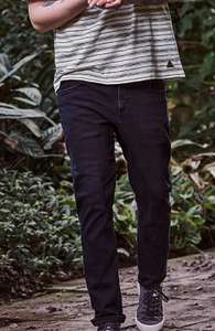 ADAPT Dark Indigo Slim Fit Jeans and also Washed Grey Slim Fit Jeans with Stretch £6 @ George Asda Free click & collect