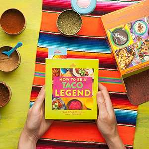 How to be a Taco legend cookbook kit £12.83 (+ £4.49 Non Prime) @ Amazon