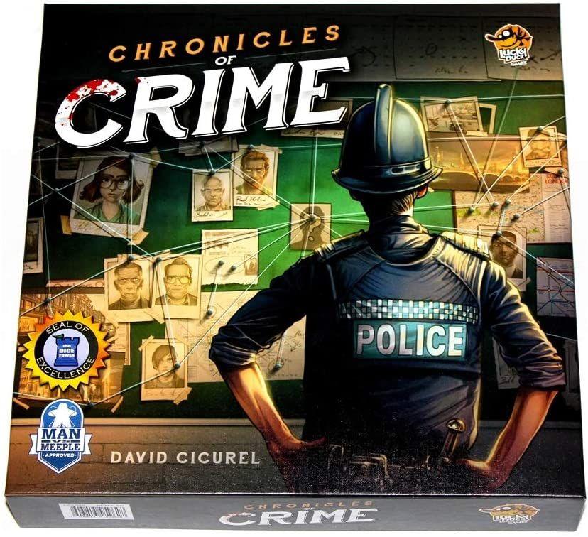 Chronicles of Crime board game £16.68 prime / £21.17 non prime @ Amazon