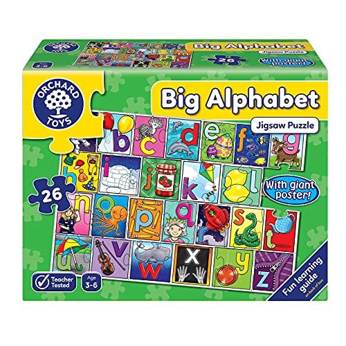 Orchard Toys Big Alphabet Floor Puzzle £6.33 (Prime) + £4.49 (non Prime) at Amazon