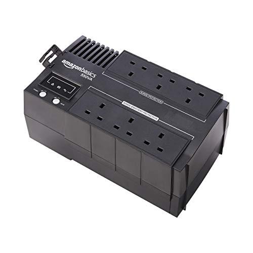 Amazon Basics Line-Interactive UPS-550VA (Battery backup power supply) £42.59 @ Amazon