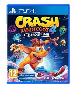 Crash Bandicoot™ 4: It's About Time (PS4) (incl. PS5 Digital Upgrade) - £34.99 at Amazon