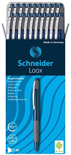 Schneider 135503 LOOX Blue/775 Ballpoint Pen Blue Pack of 20 - £8 @ Amazon Prime / £12.49 Non Prime