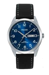 Pulsar Gents Stainless Steel Watch PJ6061X1 OS PNP Blue Face 100M Water Resistant £19.99 at Rubicon Watches