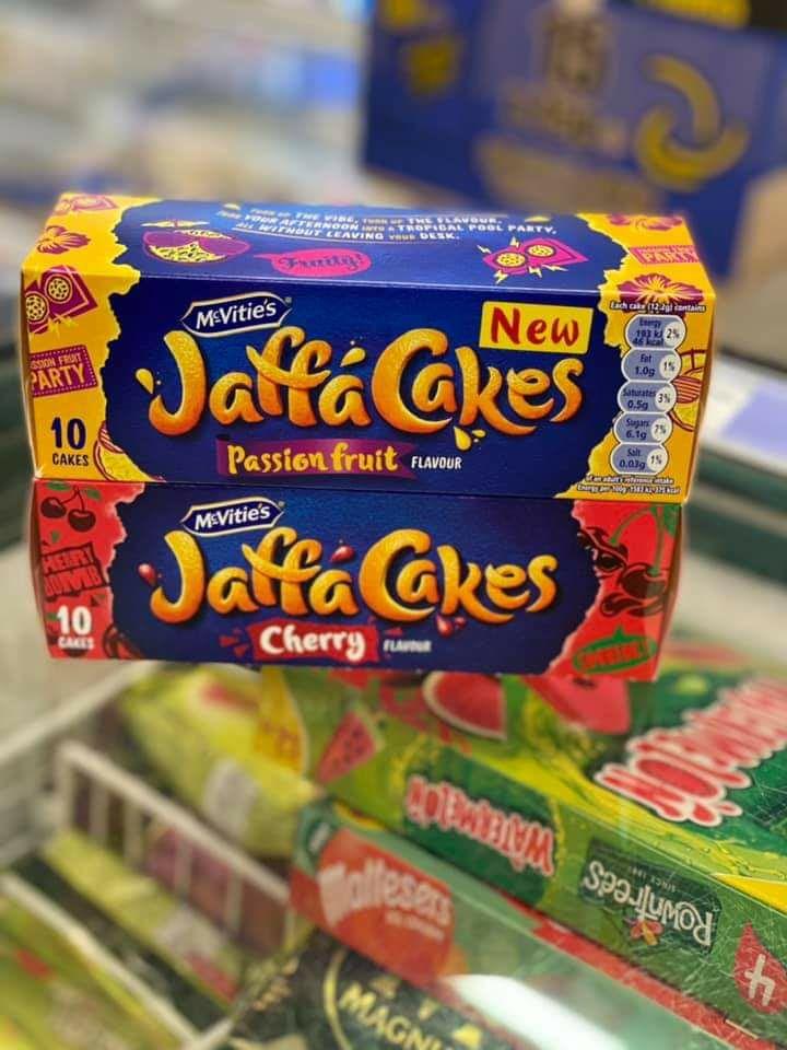 McVities Jaffa Cakes Original/Cherry/Passion 10 Pack are 60p Clubcard Price @ Tesco