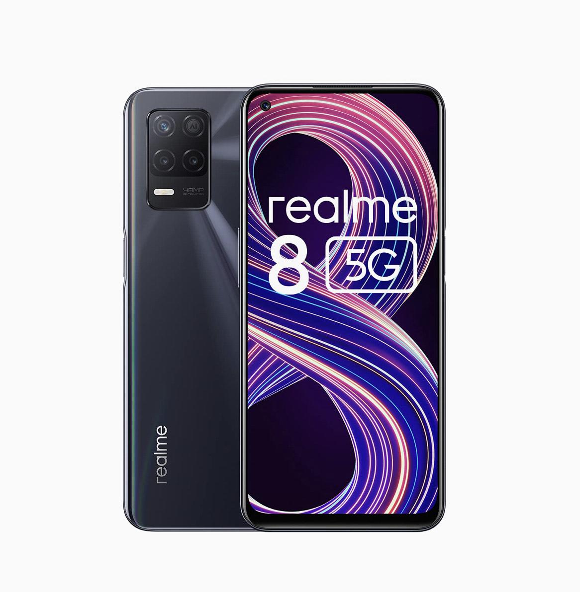 realme 8 5G - 4GB + 64GB - 90Hz Ultra Smooth Display - Dimensity 700 5G Processor - 5000mAH £179 at Amazon