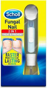 Scholl Fungal Nail Treatment 3.8 ml £9.99 Prime / £14.48 Non Prime Sold by EI - Retail and Fulfilled by Amazon